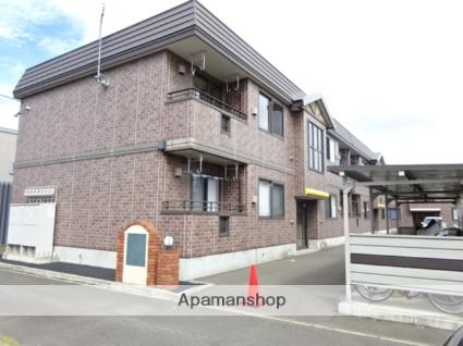 北海道札幌市北区、新琴似駅中央バスバス11分屯田5−7下車後徒歩3分の築11年 2階建の賃貸アパート
