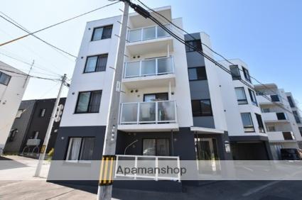 北海道札幌市北区、新琴似駅徒歩14分の築3年 4階建の賃貸マンション