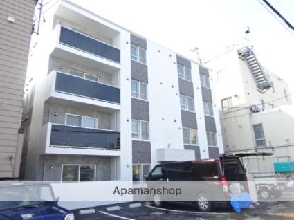 北海道札幌市北区、新琴似駅徒歩15分の新築 4階建の賃貸マンション