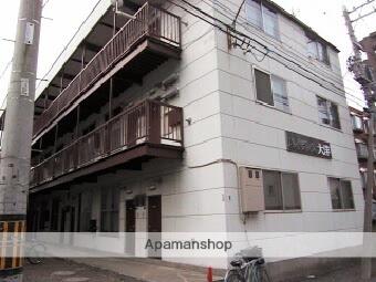 北海道札幌市北区、新琴似駅徒歩10分の築33年 3階建の賃貸アパート