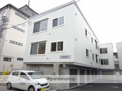 北海道札幌市東区、新琴似駅徒歩20分の築1年 3階建の賃貸アパート