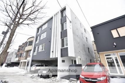 北海道札幌市東区、栄町駅徒歩5分の新築 4階建の賃貸マンション