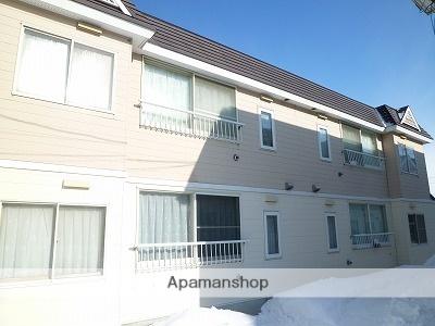 北海道札幌市東区、太平駅徒歩22分の築27年 2階建の賃貸アパート