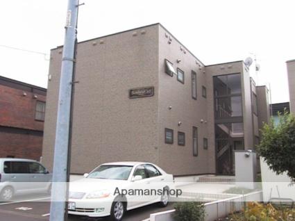 北海道札幌市北区、百合が原駅徒歩12分の築16年 2階建の賃貸アパート