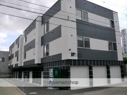 北海道札幌市東区、環状通東駅徒歩6分の築6年 3階建の賃貸アパート