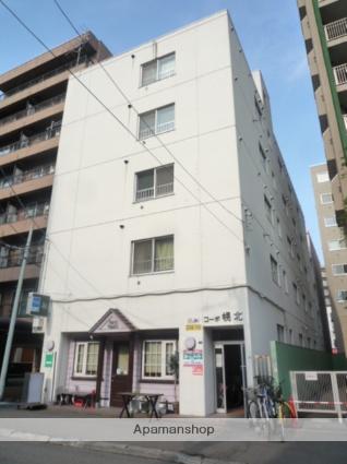 北海道札幌市北区、北18条駅徒歩3分の築31年 5階建の賃貸マンション