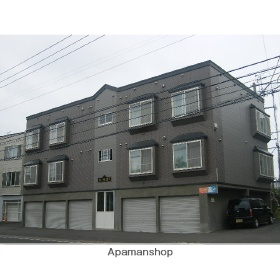 北海道札幌市東区、苗穂駅徒歩14分の築16年 2階建の賃貸アパート
