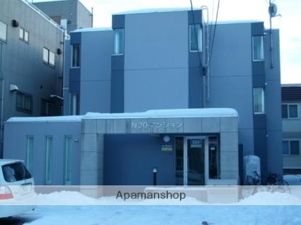 北海道札幌市北区、北24条駅徒歩11分の築23年 3階建の賃貸マンション