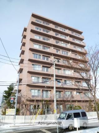 北海道札幌市東区、栄町駅徒歩10分の築12年 9階建の賃貸マンション
