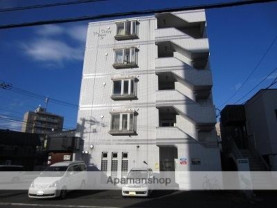 北海道札幌市東区、環状通東駅徒歩13分の築28年 5階建の賃貸マンション