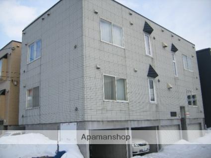 北海道札幌市北区、新琴似駅徒歩10分の築22年 2階建の賃貸アパート