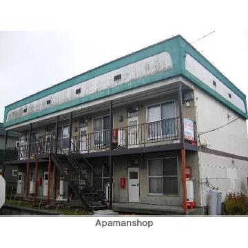 北海道札幌市北区、新琴似駅中央バスバス9分太平8−4下車後徒歩2分の築24年 2階建の賃貸アパート