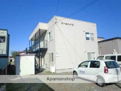 北海道札幌市北区の築22年 2階建の賃貸アパート