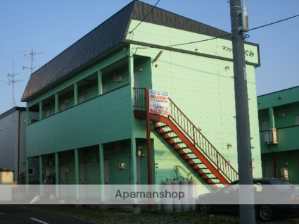 北海道札幌市北区、新琴似駅中央バスバス9分太平8−4下車後徒歩2分の築23年 2階建の賃貸アパート