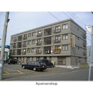 北海道札幌市東区、北24条駅徒歩15分の築35年 4階建の賃貸マンション