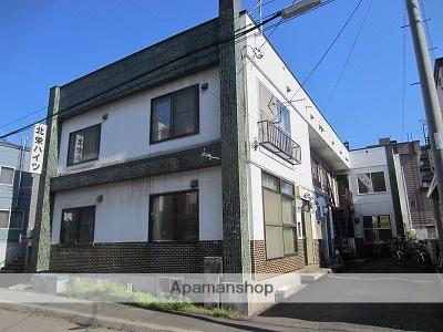 北海道札幌市東区、環状通東駅徒歩10分の築34年 2階建の賃貸アパート