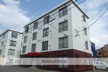 北海道札幌市北区、新琴似駅徒歩13分の築32年 4階建の賃貸マンション