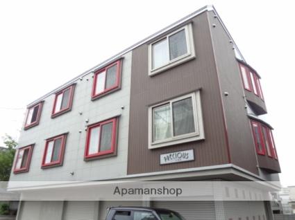 北海道札幌市東区、苗穂駅徒歩20分の築10年 3階建の賃貸アパート