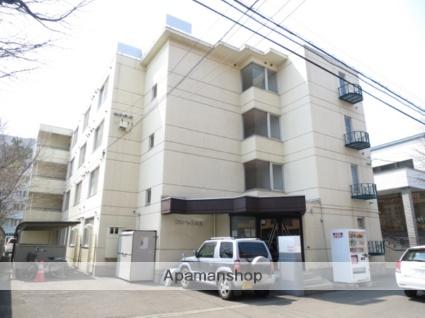 北海道札幌市北区、新琴似駅徒歩11分の築28年 4階建の賃貸マンション