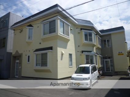 北海道札幌市北区、札幌駅徒歩9分の築28年 2階建の賃貸アパート