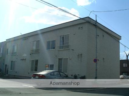 北海道札幌市西区、琴似駅徒歩15分の築23年 2階建の賃貸アパート