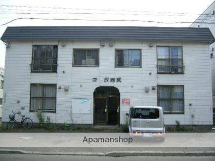 北海道札幌市東区、北24条駅徒歩8分の築31年 2階建の賃貸アパート