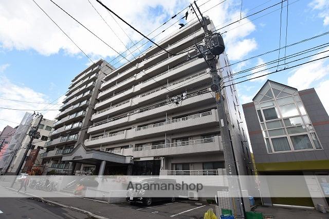 北海道札幌市中央区、西18丁目駅徒歩4分の築30年 8階建の賃貸マンション