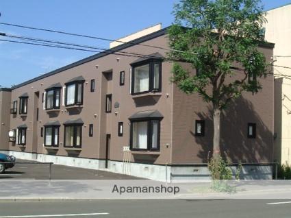 北海道札幌市中央区、桑園駅徒歩15分の築17年 2階建の賃貸アパート