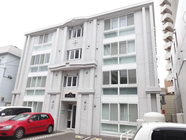北海道札幌市中央区、二十四軒駅徒歩15分の築5年 4階建の賃貸マンション
