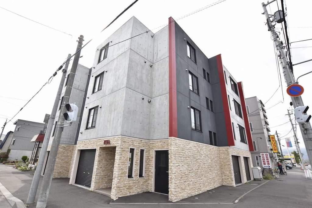 北海道札幌市北区、北34条駅徒歩20分の築7年 4階建の賃貸マンション
