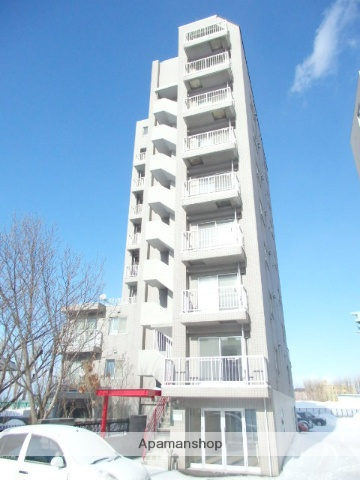 北海道札幌市中央区、札幌駅中央バスバス12分北12西15下車後徒歩3分の築22年 10階建の賃貸マンション