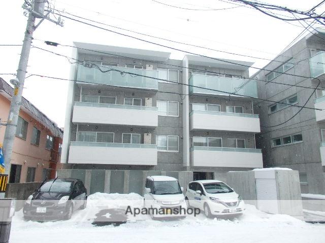 北海道札幌市中央区、札幌駅徒歩10分の新築 4階建の賃貸マンション