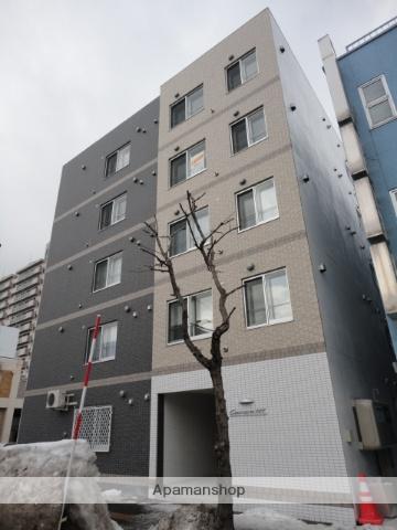北海道札幌市東区、環状通東駅徒歩12分の築5年 5階建の賃貸マンション