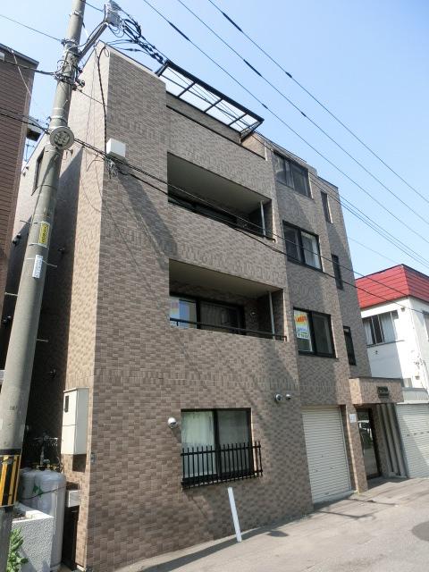 北海道札幌市北区、北34条駅徒歩13分の築13年 4階建の賃貸マンション