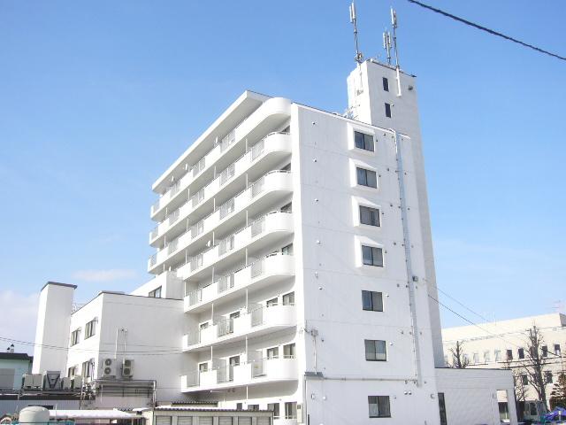北海道札幌市中央区、琴似駅徒歩16分の築29年 8階建の賃貸マンション