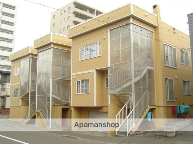 北海道札幌市中央区、円山公園駅徒歩10分の築38年 3階建の賃貸アパート