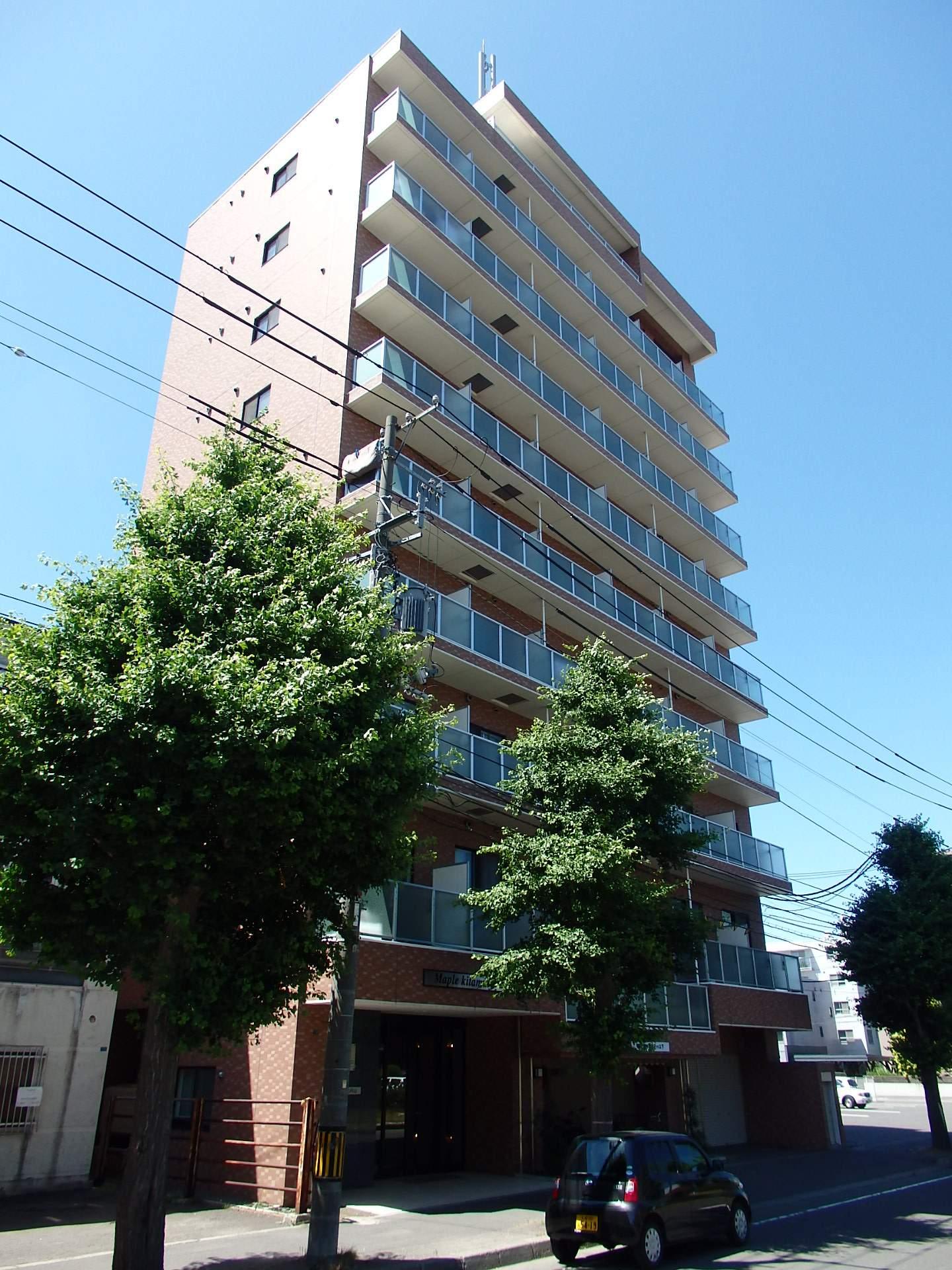 北海道札幌市中央区、二十四軒駅徒歩8分の築10年 10階建の賃貸マンション