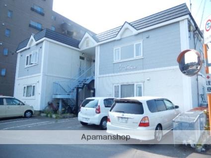 北海道函館市、五稜郭公園前駅徒歩34分の築23年 2階建の賃貸アパート