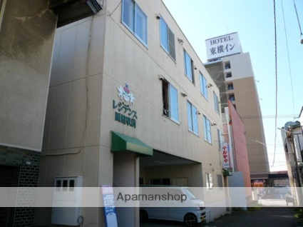 北海道函館市、函館駅徒歩5分の築36年 3階建の賃貸マンション