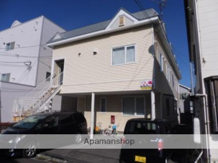 北海道函館市、宝来町駅徒歩5分の築24年 2階建の賃貸アパート