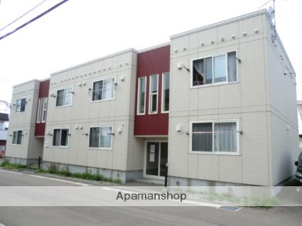 北海道函館市の築10年 2階建の賃貸アパート