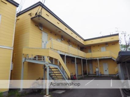 北海道函館市の築25年 2階建の賃貸アパート