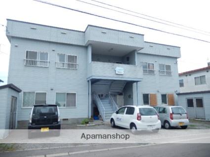 北海道函館市、五稜郭駅徒歩13分の築26年 2階建の賃貸アパート