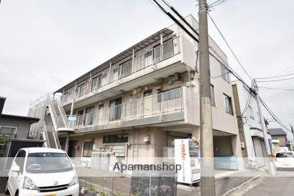 北海道函館市、五稜郭公園前駅徒歩12分の築32年 3階建の賃貸アパート