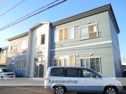 北海道函館市、七重浜駅徒歩16分の築19年 2階建の賃貸アパート