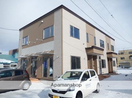 北海道函館市、函館駅徒歩3分の新築 2階建の賃貸アパート
