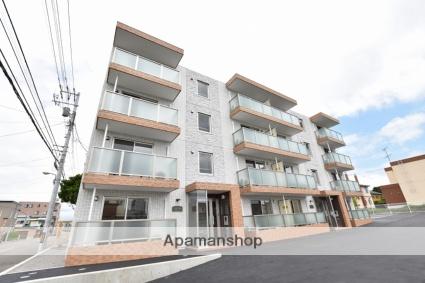 北海道函館市、千代台駅徒歩9分の新築 4階建の賃貸マンション