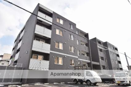 北海道函館市、千代台駅徒歩12分の新築 4階建の賃貸マンション