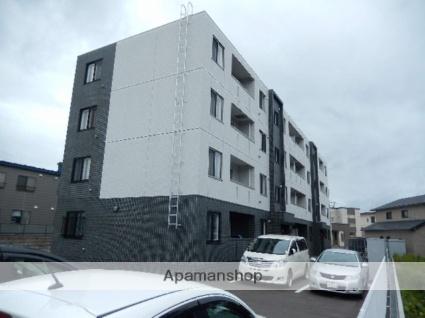 北海道函館市、市民会館前駅徒歩11分の新築 4階建の賃貸マンション