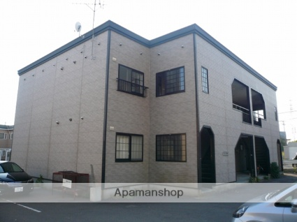 北海道函館市の築22年 2階建の賃貸アパート